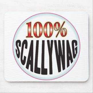 Etiqueta de Scallywag Alfombrilla De Raton