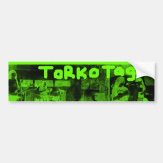¡Etiqueta de Torko Pegatina para el parachoques v Pegatina De Parachoque