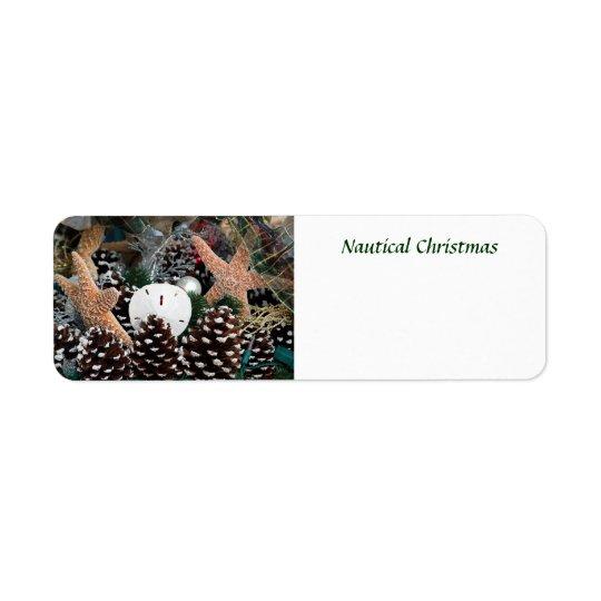Etiqueta Decoraciones náuticas del navidad