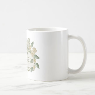 Etiqueta decorativa de la mariposa del estilo del taza