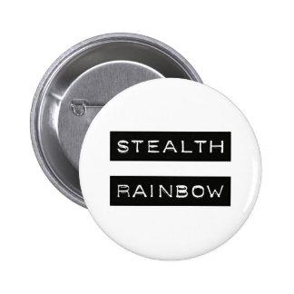 Etiqueta del arco iris de la cautela chapa redonda de 5 cm