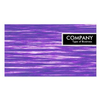 Etiqueta del borde - interferencia púrpura tarjetas de visita
