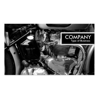 Etiqueta del borde - motor clásico II de la moto Tarjetas De Visita