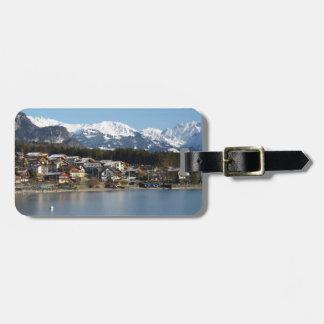 Etiqueta del equipaje de Brienz del lago