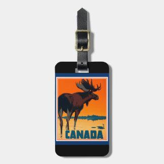 Etiqueta del equipaje de Canadá