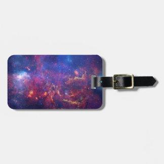 Etiqueta del equipaje de la nebulosa