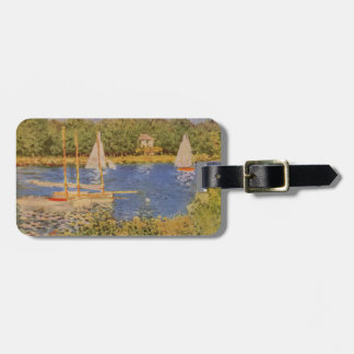 Etiqueta del equipaje de la pintura de Monet