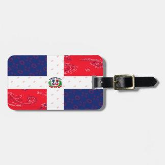 Etiqueta del equipaje de la República Dominicana