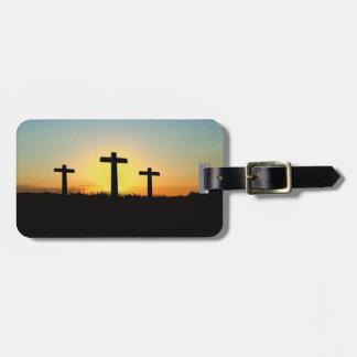Etiqueta del equipaje de Pascua de la resurrección