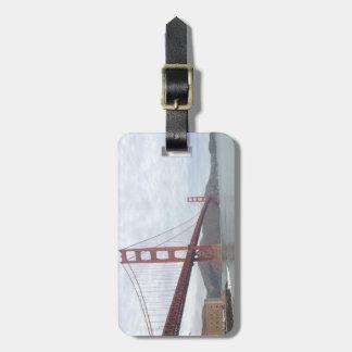 Etiqueta del equipaje de puente Golden Gate