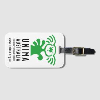 Etiqueta del equipaje de UNIMA Australia