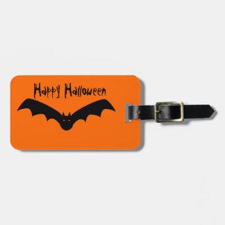 Etiqueta del equipaje del palo de Halloween