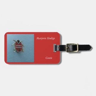Etiqueta del equipaje para un miembro del cootie