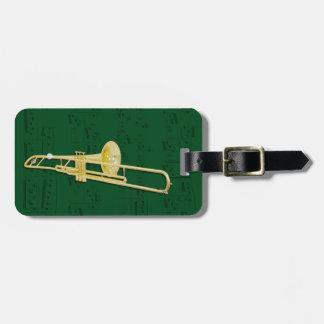 Etiqueta del equipaje - Trombone (válvula) - elija