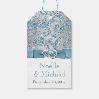 Etiqueta del favor del boda del país de las etiquetas para regalos