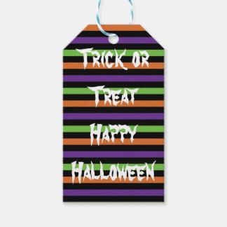 Etiqueta del feliz Halloween del truco o de la Etiquetas Para Regalos