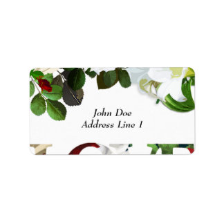 Etiqueta del franqueo del boda etiquetas de dirección