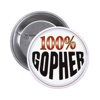 Etiqueta del Gopher Pins