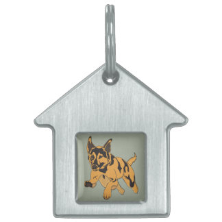 etiqueta del keira placa mascota