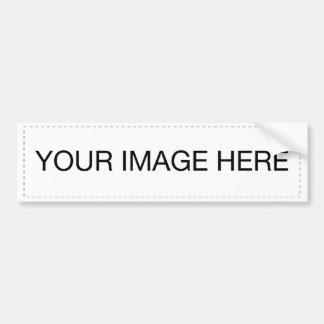 Etiqueta del mascota etiqueta de parachoque