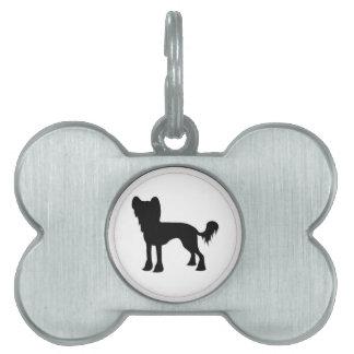 Etiqueta del mascota placas de mascota