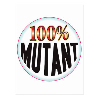 Etiqueta del mutante postal