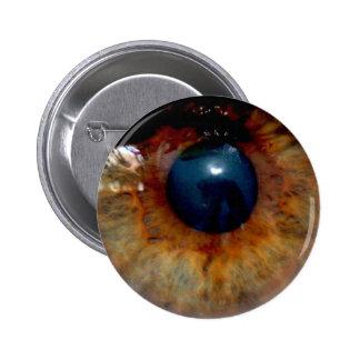 Etiqueta del ojo pin