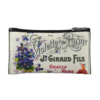 Etiqueta del perfume de Violette del francés