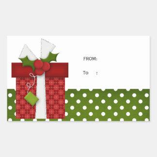 Etiqueta del regalo