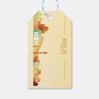Etiqueta del regalo de Berlín, Alemania Etiquetas Para Regalos