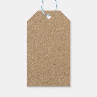 Etiqueta del regalo de Kraft Etiquetas Para Regalos