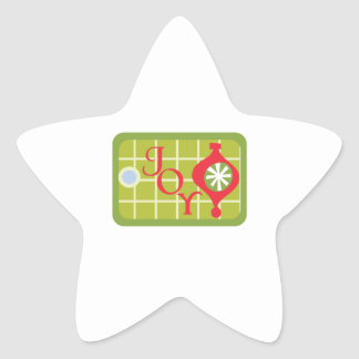 Etiqueta del regalo de la alegría