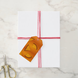 Etiqueta del regalo de la calabaza etiquetas para regalos