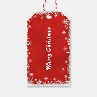 Etiqueta del regalo de la chispa de las Felices