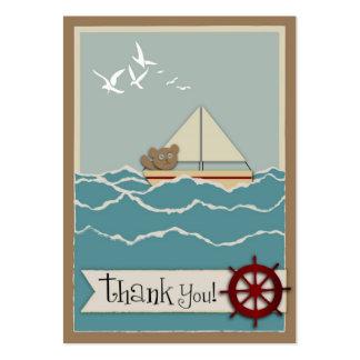 Etiqueta del regalo de la navegación TY Plantillas De Tarjetas De Visita