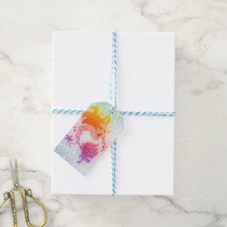 etiqueta del regalo de la sirena etiquetas para regalos