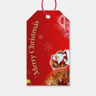 Etiqueta del regalo de las Felices Navidad Etiquetas Para Regalos