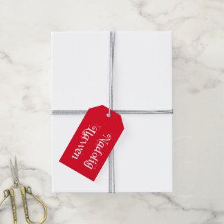 Etiqueta del regalo de Nadolig Llawen (Galés) Etiquetas Para Regalos