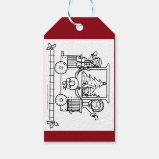 Etiqueta del regalo de vacaciones etiquetas para regalos