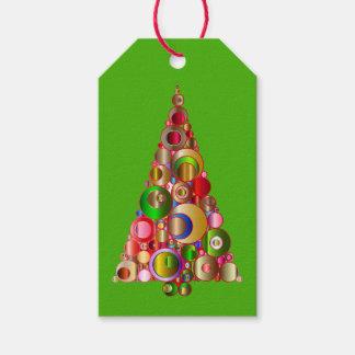 Etiqueta del regalo del árbol