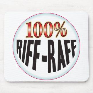Etiqueta del Riff-Raff Alfombrillas De Ratón