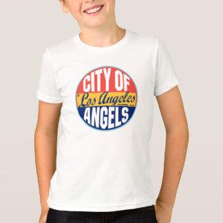 Etiqueta del vintage de Los Ángeles Camisetas