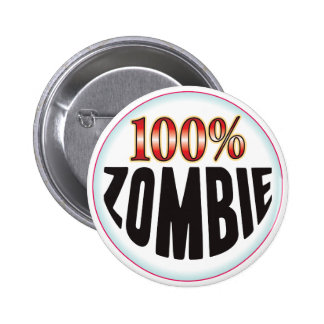 Etiqueta del zombi pins