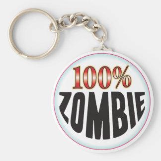 Etiqueta del zombi llavero