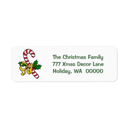 Etiqueta Dirección del navidad de Navidad del día de fiesta