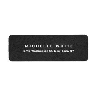 Etiqueta Diseño gris minimalista moderno elegante llano de