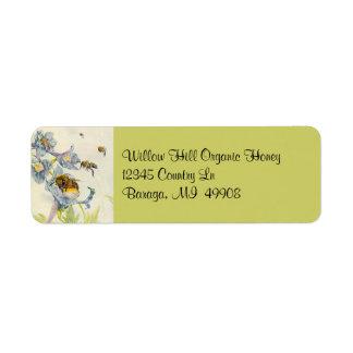 Etiqueta El apicultor de la apicultura de las abejas de la
