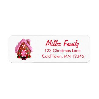 Etiqueta El bastón de caramelo de la casa de pan de
