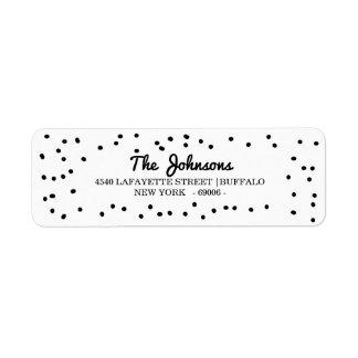 Etiqueta El Dalmatian simple puntea días de fiesta