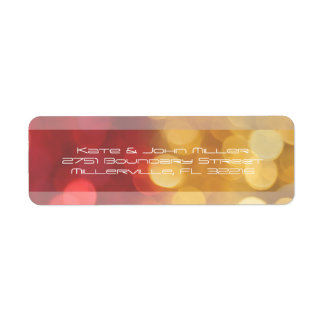 Etiqueta El extracto rojo y amarillo enciende el remite